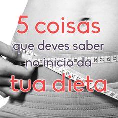 5 Coisas que Teria Gostado de Saber Antes de Começar a Minha Dieta #dieta #emagrecer #fitness