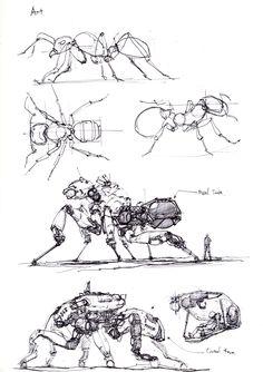 ArtStation - animal robotic machine, longque Chen