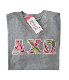 Alpha Chi Omega Monogramalamodeshop Sorority Sweatshirt
