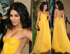 Vanessa Hudgens in Maria Lucia Hohan Gown