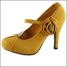 Allie suede flower pumps - $32.99 : Mikarose Fashion, Reinventing Modest Fashion