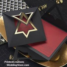 Star of David Invitation sets a beautiful tone for your Bar Mitzvah or Bat Mitzvah celebration with its gold star on the black wrap You customize by choosing the color of the invitation card Shop this and many more Bar Mitzvah Bat Mitzvah invitations at Bar Mitzvah Favors, Bat Mitzvah Gifts, Bar Mitzvah Invitations, Invitation Card Design, Invitation Cards, Custom Invitations, Party Invitations, Star Of David Pendant, Creative Cards