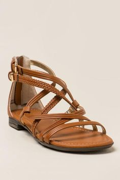 Report - Georgya Braided Gladiator Sandal