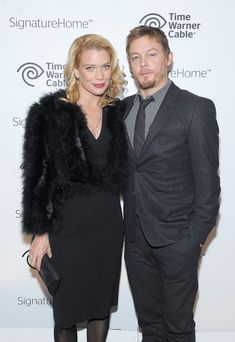 Norman and Laurie Holden The Walking Dead