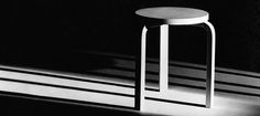 The iconic Stool 60 created in 1933 by furniture designer and architect Alvar Aalto, who is also one of the inspirations behind our magazine's title - ALVAR