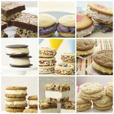 Nine amazing make-them-yourself recipes for National Ice Cream Sandwich Day.