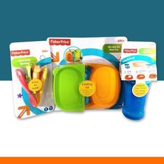 Fisher Price On-The-Go Baby Feeding Set - Little TroubleMakers Kids Toys Fashion and Everything Fun (2)
