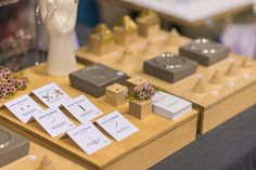 The Finders Keepers SS13 Sydney Markets - photos by Bec Taylor like the wood board with built-in ring cones