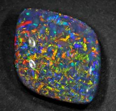 Black Opal- Lightning Ridge, Australia