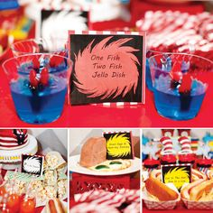 Bright & Whimsical Dr. Seuss Birthday Party // Hostess with the Mostess®