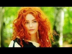 Most popular tags for this image include: red hair, princess merida, cosplay, curly hair and cute Merida Cosplay, Curly Hair Styles, Natural Hair Styles, Natural Red Hair, Colored Curly Hair, Celtic Music, Red Hair Color, Beautiful Redhead, Beautiful Goddess
