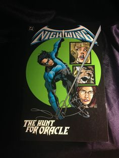 Nightwing: The Hunt For Oracle. DC Softcover Graphic Novel.