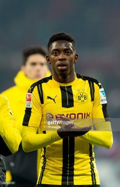 Ousmane Dembele of Dortmund disappointed during the Bundesliga match between 1. FSV Mainz 05 and Borussia Dortmund at the Opel Arena on January 29, 2017 in Mainz, Germany.