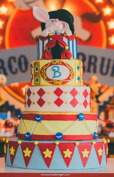 Blog Mãe de Primeira Viagem: Dicas de Festas- Tema: Circo Vintage (Caramelados Doceria)