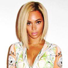 Beyonce's angled bob