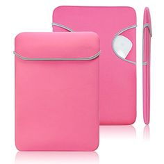 """Lavievert Soft Neoprene Sleeve Water Resistance Bag Pocketed Case Cover Laptop Briefcase with Lifetime Guarantee for Apple 11"""" Macbook Air Display and Most Popular 11-11.6 Inches Laptop / Notebook / Ultrabook / Netbook Also Use As a Mouse Pad - Pink Lavievert http://www.amazon.com/dp/B00YXFUF8U/ref=cm_sw_r_pi_dp_JCQEvb0QZEFWS"""
