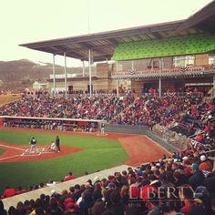 Baseball Home Opener in the new stadium! GO FLAMES! February 24, 2013
