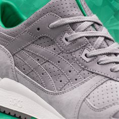 Find out all the latest information on the Size? x ASICS Tiger Gel Lyte III Tsavorite Asics Tiger Gel Lyte, Asics Gel Lyte Iii, Best Sneakers, Sneakers Nike, Sneaker Release, February 2015, Collaboration, Stuff To Buy, Products