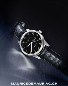 Automatic modern Swiss made watch from Maurice de Mauriac. Swiss luxury watches for men and women.