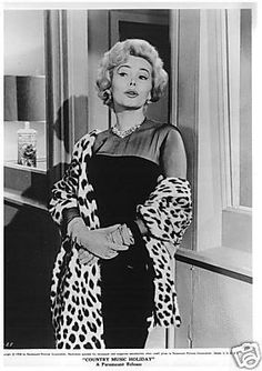 1958  Zsa Zsa Gabor--decaying hollywood mansion's
