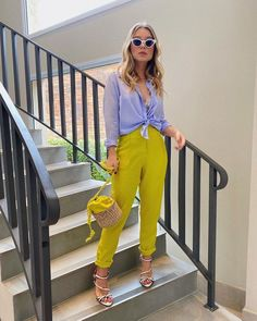 Curvy Outfits, Casual Summer Outfits, Classy Outfits, Chic Outfits, Spring Outfits, Fashion Outfits, Color Blocking Outfits, Colourful Outfits, Colorful Fashion