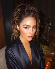 Olivia Culpo's Non-Boring Ponytail Is The Answer To Second-Day Hair