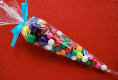 Etsy: 12 Cone Treat Bags by CupcakeSocial.