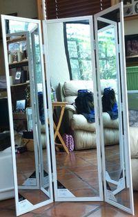 3 Way Mirror - Three Way Mirror- Trifold Mirror DIY Tutorial