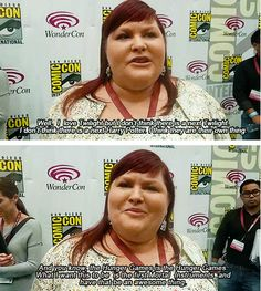 Interviewer: Is it a fair comparison that some people are already calling this as the 'next Twilight'?