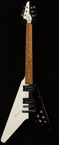 Rudolf Schenker Flying V   Artist   Gibson Guitars   Electrics   Wildwood Guitars