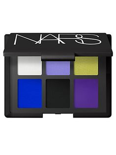 New Wave Eyeshadow Palette  Leave no look unimagined. Vibrant violets juxtapose with chartreuse and vivid blue in an edgy, electro-cool color palette for eyes.