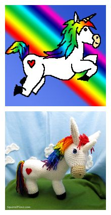 oddball personalities… and I think that's something we can all relate to in life. We often think of ourselves as the one sane person in the world, and all the people we know are the weird ones! Have you modeled any of their personalities after Crochet Unicorn Pattern Free, Crochet Deer, Crochet Amigurumi Free Patterns, Crochet Doll Pattern, Crochet Animals, Crochet Dolls, Free Crochet, Stuffed Animal Patterns, Dinosaur Stuffed Animal