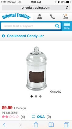 Party candy bar( have several)