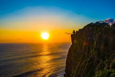 BEST SUNSET TIME IN BALI....!!!  Sunset at ULUWATU TEMPLE for your things to do in Bali holidays....Read the details of ULUWATU temple at http://100thingstodoinbali.blogspot.com/2013/07/things-to-do-in-bali-19.html