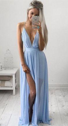 vestido maxi de división Azul |  lookbook viajes