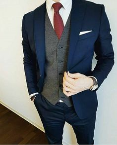 WeddingDress - Groom Suit, Dress and Accessories , WeddingDress WeddingDress Hochzeit Rugged Style, Mens Fashion Suits, Mens Suits, Costume Anglais, Style Brut, Moda Formal, Mode Costume, Herren Outfit, Suit And Tie