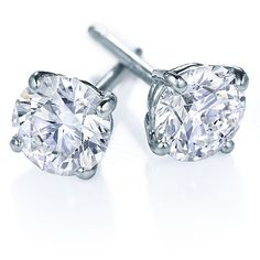 Diamond Studs - We all know diamonds are a girls best friend, but studs are so classic and beautiful. Definitely a must for any girl's jewelery box