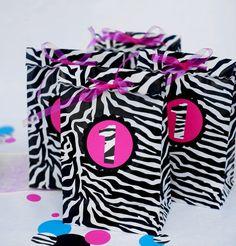 zebra party favors 2nd birthday pinterest zebra party favors