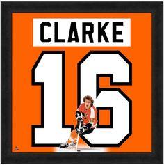 Bobby Clarke Framed Jersey Photo Wall Art 0d4ad9523
