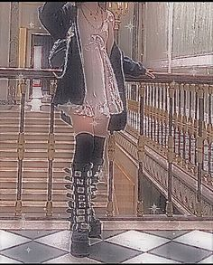 Punk Outfits, Grunge Outfits, Grunge Fashion, Goth Aesthetic, Aesthetic Clothes, Alternative Outfits, Alternative Fashion, Pretty Outfits, Cool Outfits