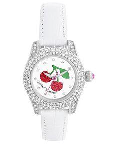 Cherry watch Betsey Johnson