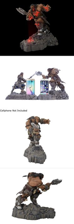 World of Warcraft 168258: Swordfish Sfw-Pd1000d Warcraft Movie Collection Durotan Statue Phone Dock - Hord -> BUY IT NOW ONLY: $40 on eBay!