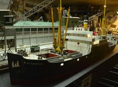 The R.A.SANTOS with all of it's rigging now in place. Photo and modeling by Greg Shinnie