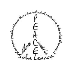 John Lennon Quotes   Spa Week Daily ❤ liked on Polyvore