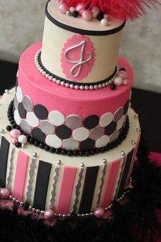 pink fancy cake