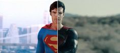 Why is modern cinematography so different to classic cinematography? Let's start by look at classic Superman movies in comparison to the new films.