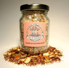 Crown of Success Bath Salts for helping you succeed in all of your endeavors.