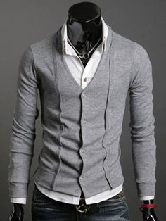 Between Fall and Winter. This is a great look