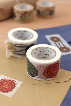 Extra-wide MT Ex Washi Tape is perfect for decorating letters, packages, and nostalgic scrapbook pages.