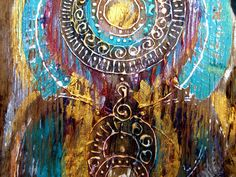 Mandala, Painting, Art, Art Background, Painting Art, Kunst, Gcse Art, Paintings, Painted Canvas